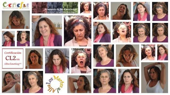Collage de emociones